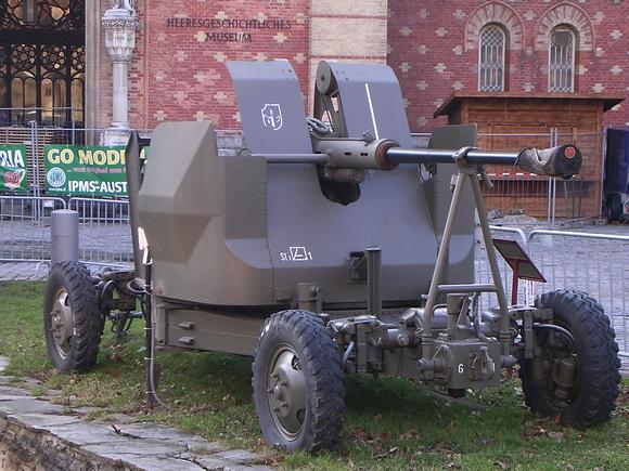 """""""Austrian Armed Forces""""; """"österreichisches Bundesheer"""";  """"Austrian Army"""";""""Museum_of_Military History/Vienna""""; """"Heeresgeschichtliches_Museum""""; Bundesheer, Bofors, """"4cm FlAK/Maschinenkanone 55/57  L70"""","""