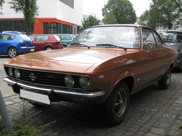 """Opel Manta 1.2"", ""Manta Manta""; Manta, Opel"