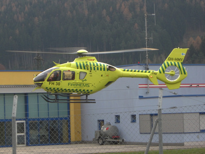 """OH-HMY"", ""FinnHEMS"" , ""Eurocopter EC135 V3"", ""EC135 V3"", Eurocopter"