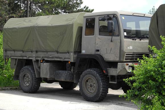 """""""Geländegängiger Lastkraftwagen, D, Steyr 5t (4x4) SDP 12 M 18""""; """"Steyr 12M18"""";  Steyr; 12M18; """"Austrian Armed Forces""""; """"Austrian Army""""; BH; ÖBH; """"österreichisches Bundesheer""""; Bundesheer"""
