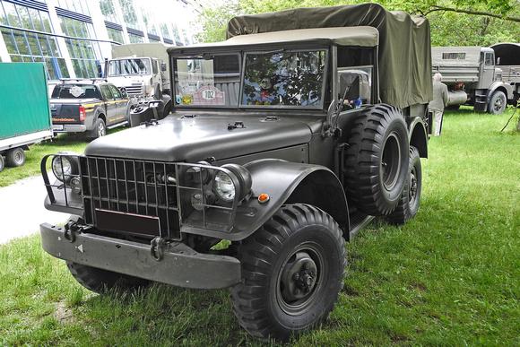 """Austrian, Armed, """"Austrian Army"""", Fernmeldekraftwagen, Forces, M37B1, """"Type 245 Dodge"""", """"österreichisches Bundesheer"""", """"Weapons Carrier"""""""