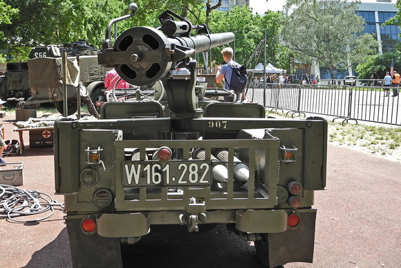 """""""Austrian Armed Forces"""", """"Austrian Army"""", """"österreichisches Bundesheer"""", Bundesheer, BH, Jeep, """"Willys Overland"""", Willy's, Willys, """"Ford Jeep"""", """"Jeep mit 10,6cm rPAK M40A1 auf Dreibein M.79"""", """"Jeep mi"""