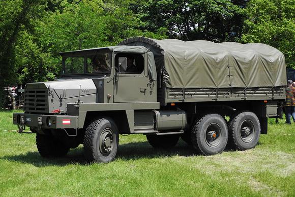 """""""Geländegängiger Lastkraftwagen, D, 5t"""", """"gl LKW Berliet GBC8MT"""", """"Berliet GBC8MT"""", Berliet, GBC8MT, LKW, Lastkraftwagen, Zugmaschine, """"Austrian Armed Forces"""", """"Austrian Army"""", """"österreichisches Bunde"""