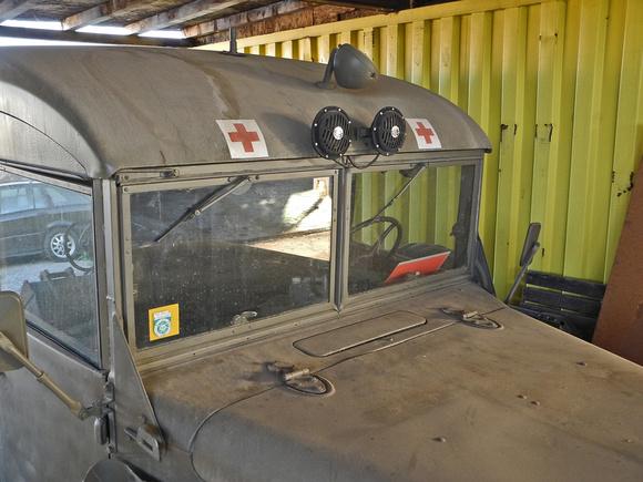 """""""Austrian Armed Forces"""", """"Austrian Army"""", """"österreichisches Bundesheer"""", Bundesheer, BH, """"Traditionsverband für Heereskraftfahrwesen"""", """"Dodge M43 Ambulanz"""", """"Geländegängiger Sanitätskraftwagen, B, 3/4"""