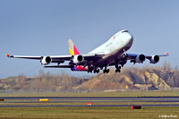 Asiana Airlines Boeing 747-48EF HL7436