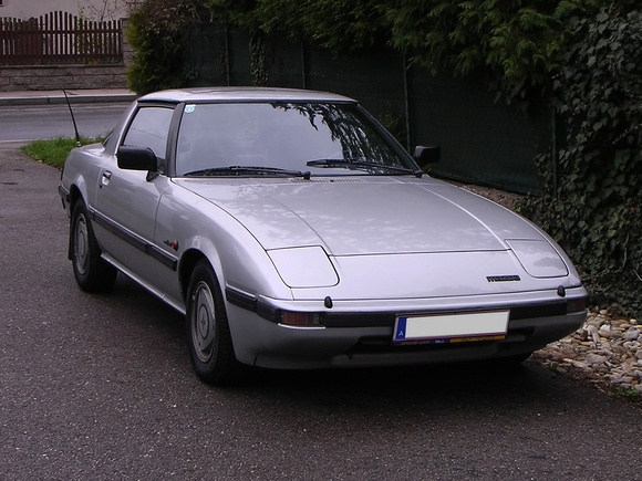 """Mazda RX7"", RX7, Mazda, Wankel, Wankelmotor, ""Wankel engine"""