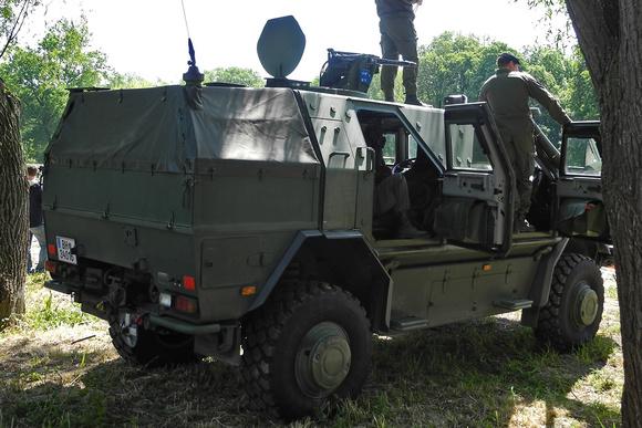 """Dingo 2""; Dingo; ATF; MRAP; KMW; ""Krauss-Maffei-Wegmann""; ""UNIMOG U-5000""; EMPL, ""DINGO 2 C1 GSI""; ""Allschutz-Transport-Fahrzeug""; ""Austrian Armed Forces""; ""Austrian Army""; BH; ÖBH; ""österreichisches"